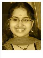 Abhirami Ajai , Singer, Diamond necklace